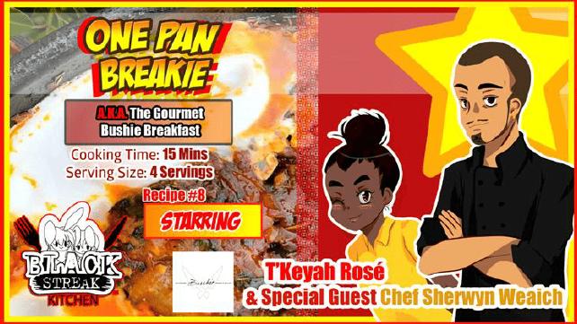 Image of One Pan Breakie - By Chef Sherwyn Weaich (Digital Comic)