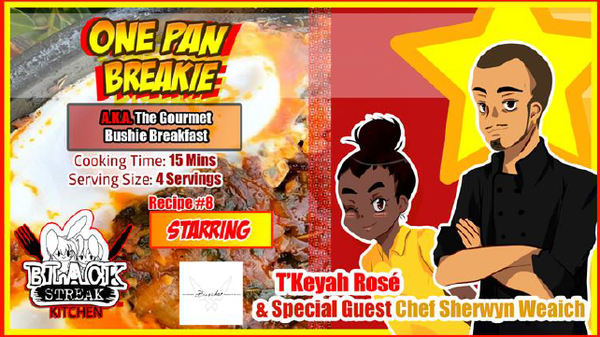 Image of One Pan Breakie - By Chef Sherwyn Weaich (Digital Comic)