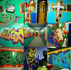 Image of *Muralist for hire