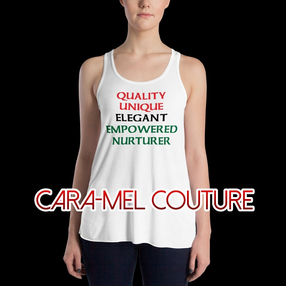 Image of Q.U.E.E.N. White Tank Top