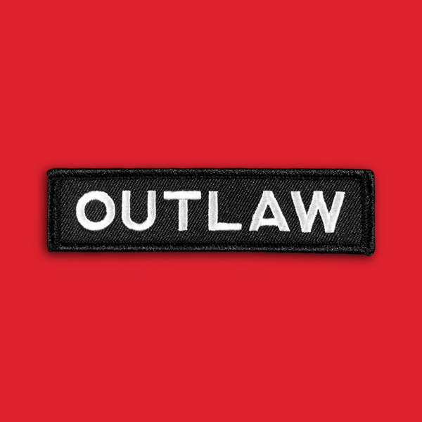 Image of 'Outlaw' Patch