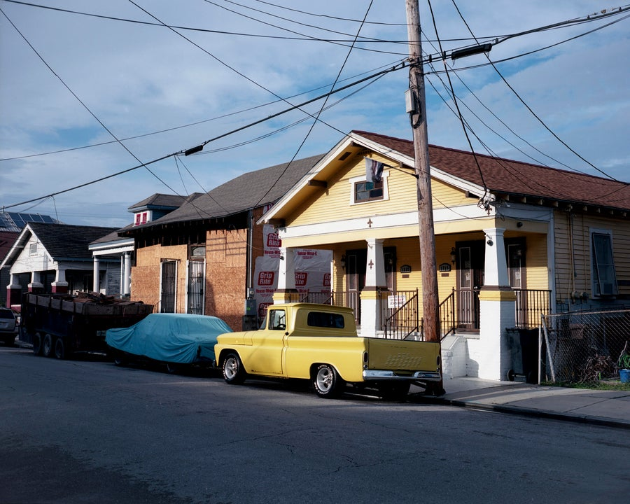 Image of Yellow Pickup