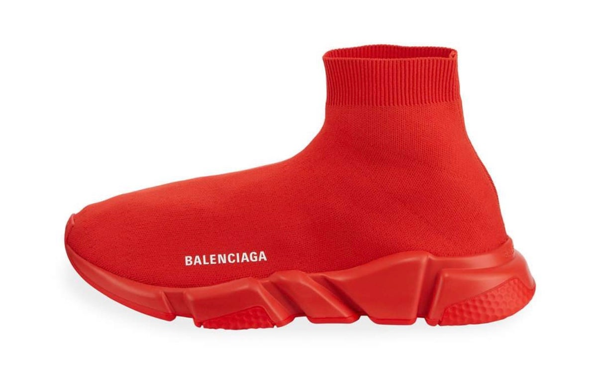 Balenciagia Speed Trainers Red