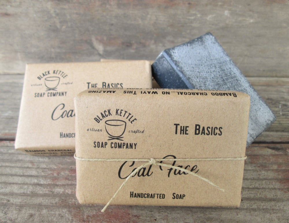 Image of COAL FACE Organic Activated Charcoal Soap