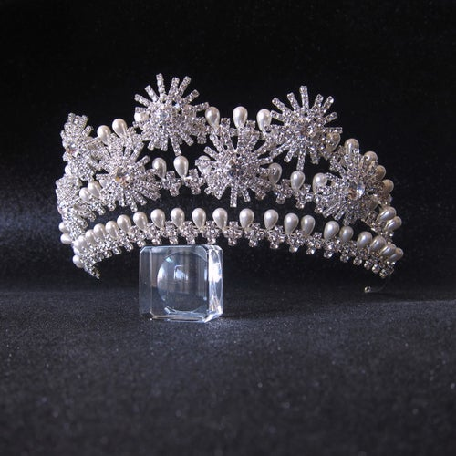 Image of Heavenly Starbursts tiara