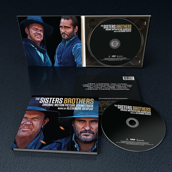 Image of The Sisters Brothers (Original Motion Picture Soundtrack) - Alexandre Desplat - CD