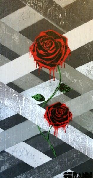 Image of Rising Roses - version 2