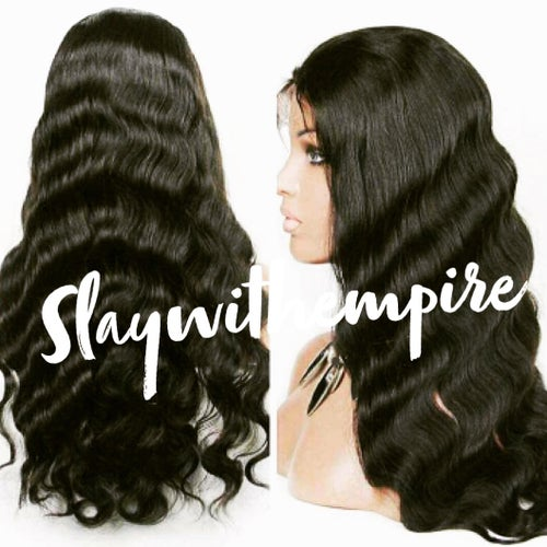 Image of •Body Wave & Straight Lace front wig