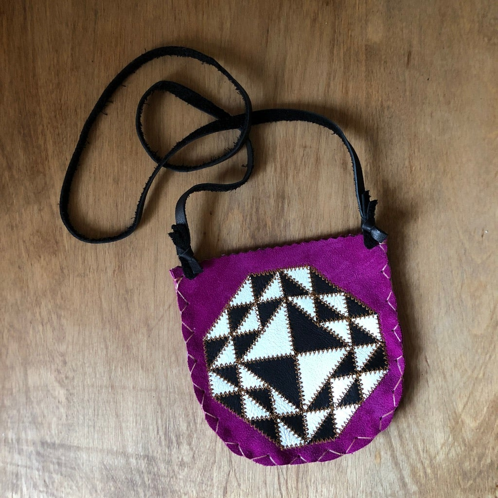 Image of Quilt Pouch - Fuchsia