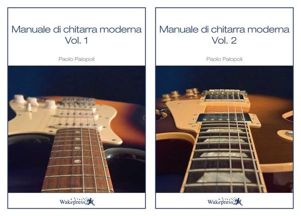 Image of MANUALE DI CHITARRA MODERNA Vol.1 e Vol.2