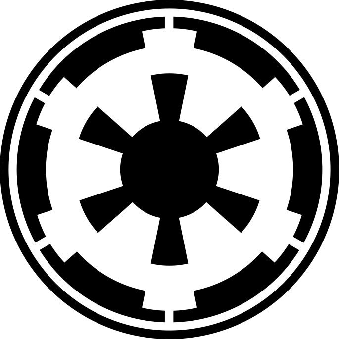 Image of Imperial Logo Sticker