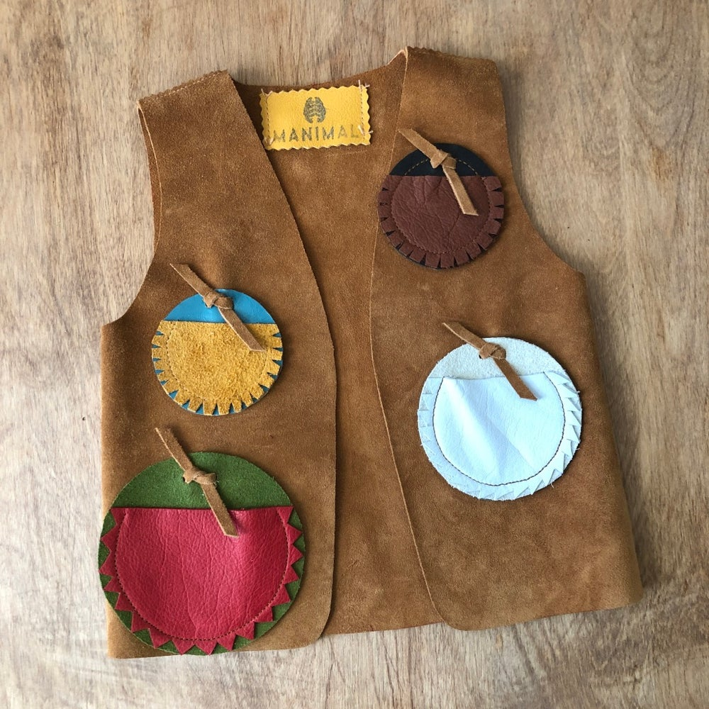 Image of Child's Badge Vest