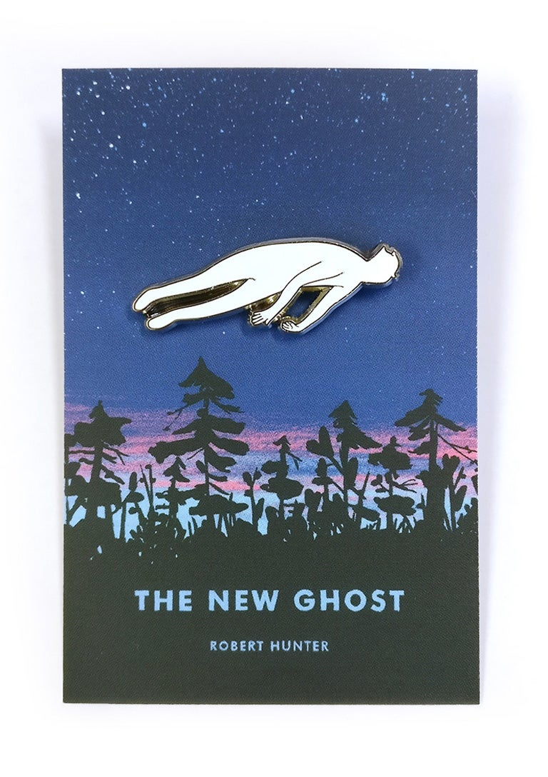 Image of The New Ghost Pin Badge