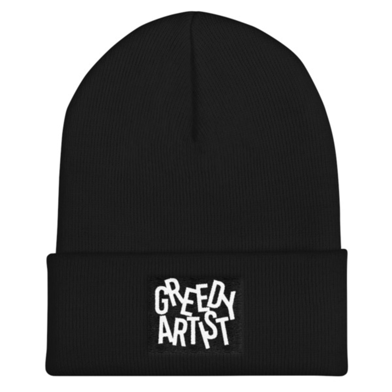 Image of Greedy Beanie (black)
