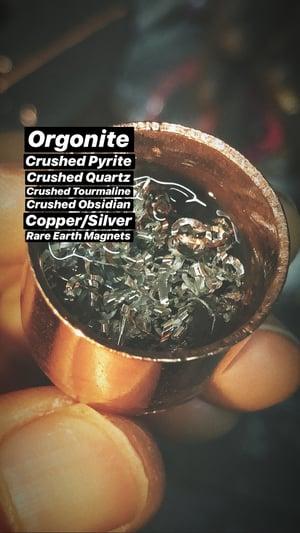 Image of Tangerine Quartz Crystal Key Necklace