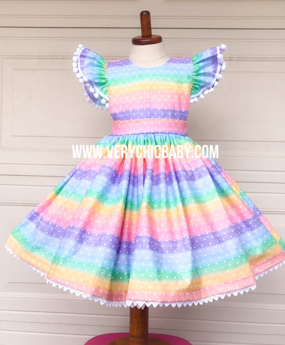 Image of Confetti Rainbow Dress