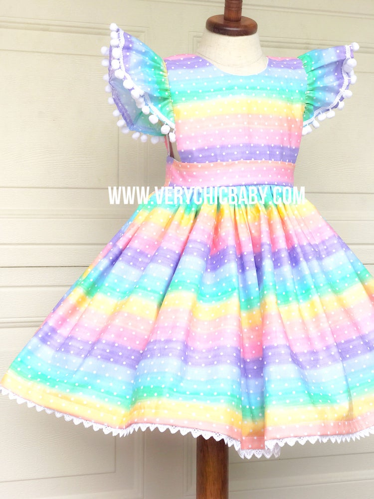 Image of Confetti Rainbow Dress