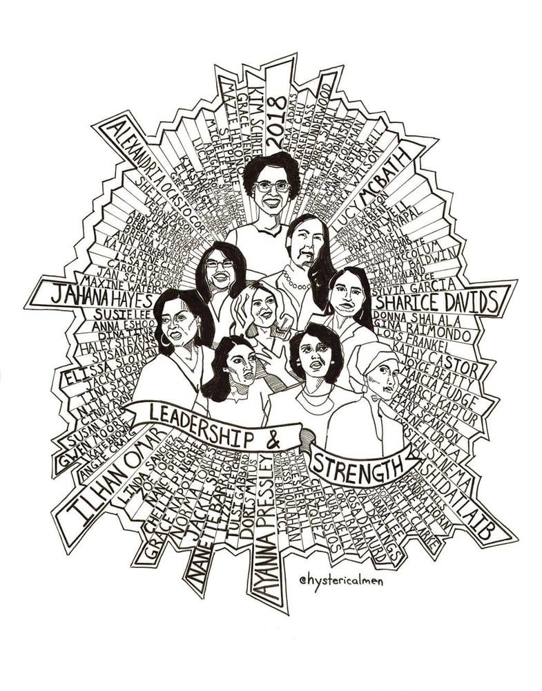 Image of Leadership & Strength print