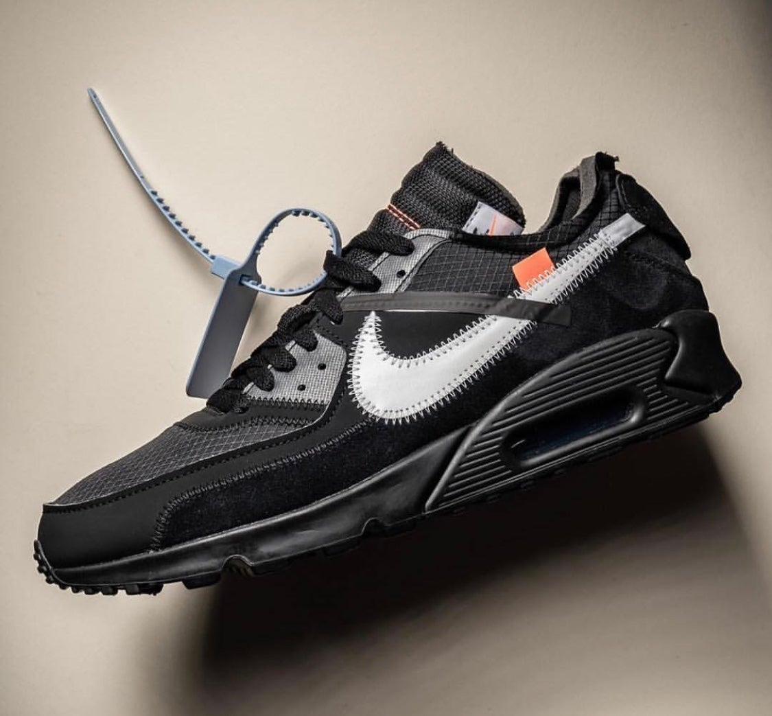 Image of Air Max 90 Off White Black