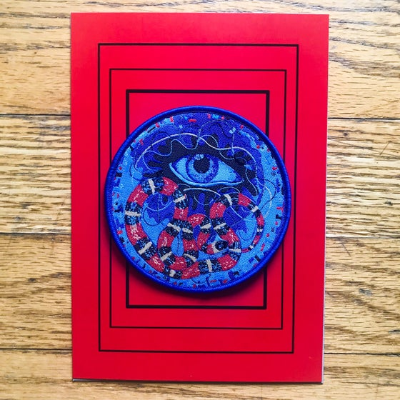 "Image of ""Equinox""  Woven Patch / Postcard Print (Limited Edition)"