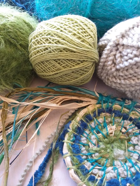 Image of  Weaving with Colour and Texture Saturday 9th March 9:30am to 2:30pm @The Makers Studio