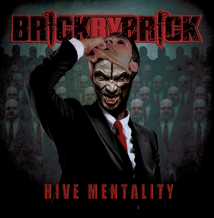 Image of Brick By Brick - Hive Mentality CD