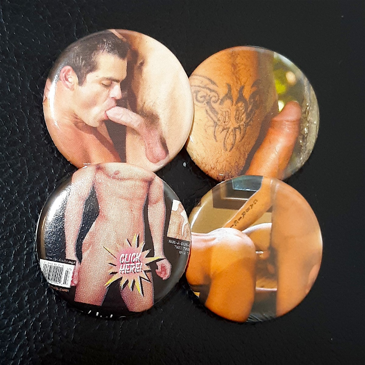 Porn Pin 4 Pack