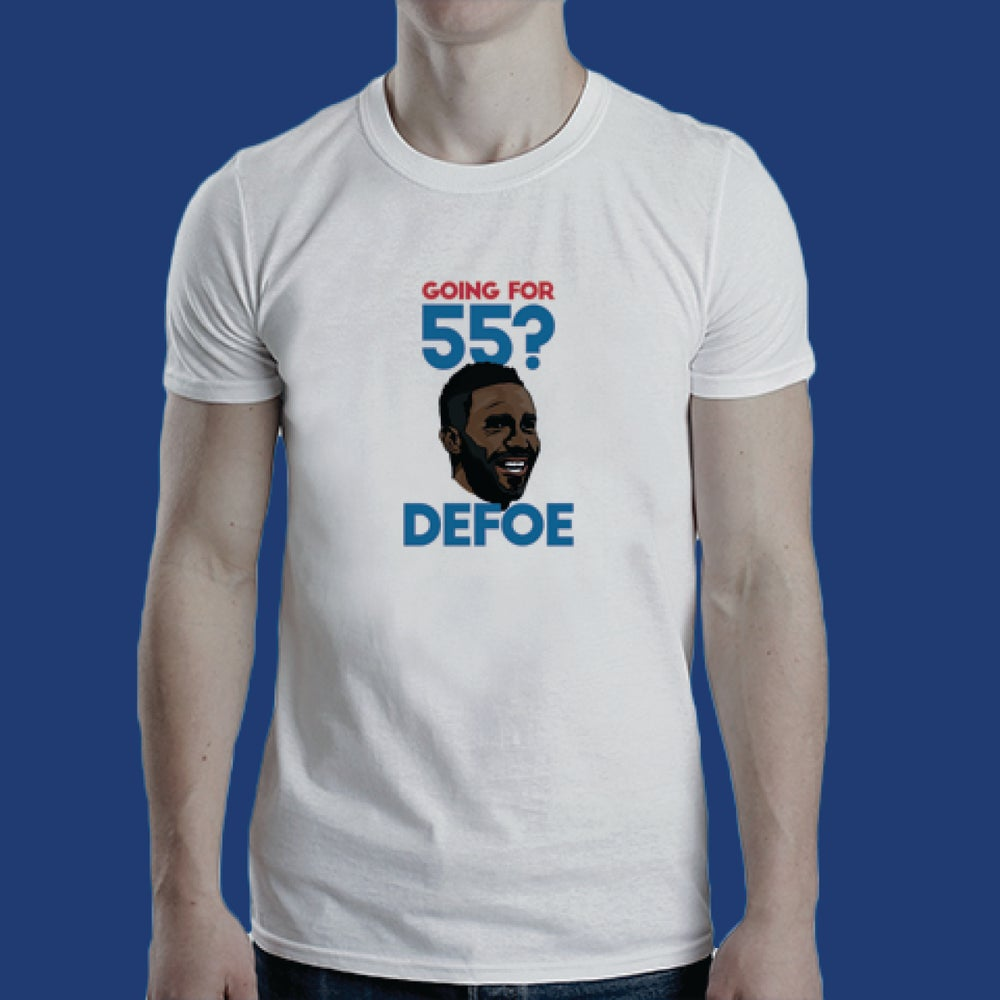 Image of Going for 55? Defoe! t-shirt