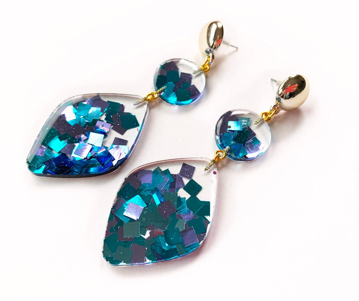 Image of Confetti Statement Earrings