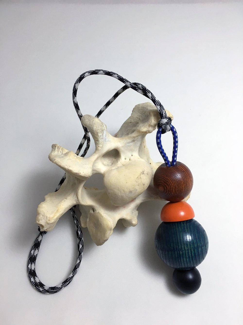 Image of Blue Belly Neckpiece