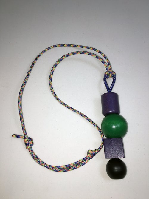 Image of Grape Push-Pop Neckpiece