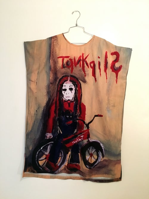 Image of REDRUM Slipknot Painting shift dress