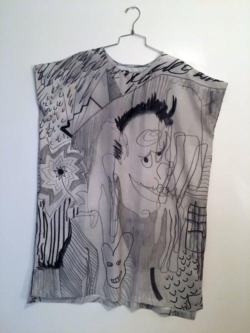 Image of Sketchbook Shift Dress