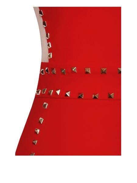 Image of Monica Studded Dress