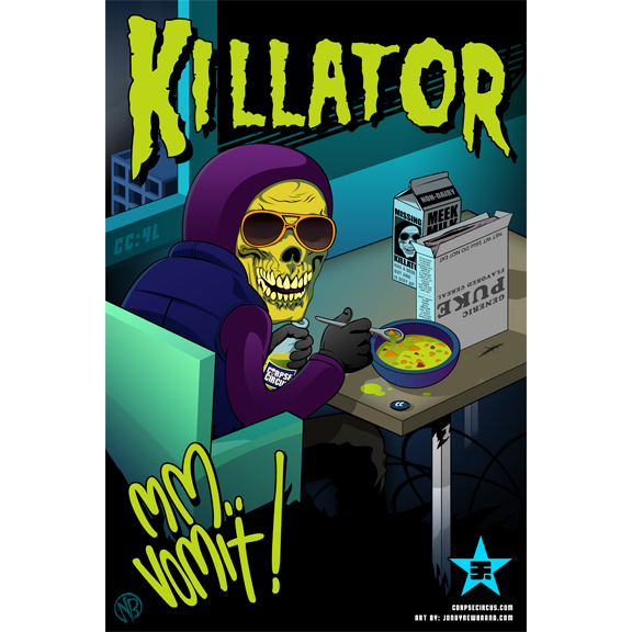 Various Killator Posters