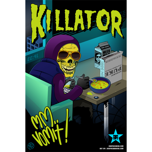 Image of Various Killator Posters