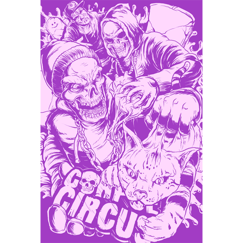Image of Various Corpse Circus Posters (set 2)