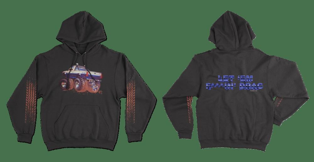 Image of UncleRickysTruckNuts hoodie