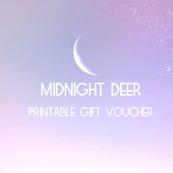Image of Printable Gift Vouchers