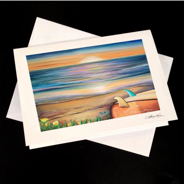 Image of Sunset Sessions 5-Pack Greeting Card Set