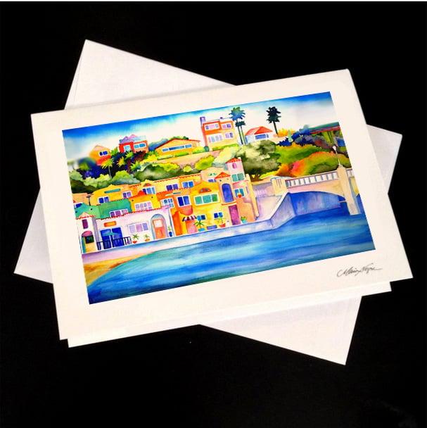 Image of Venetians 5-Pack Greeting Card Set