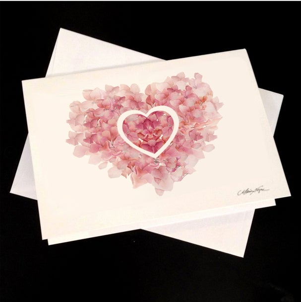 Image of Love Blossom 5-Pack Greeting Card Set