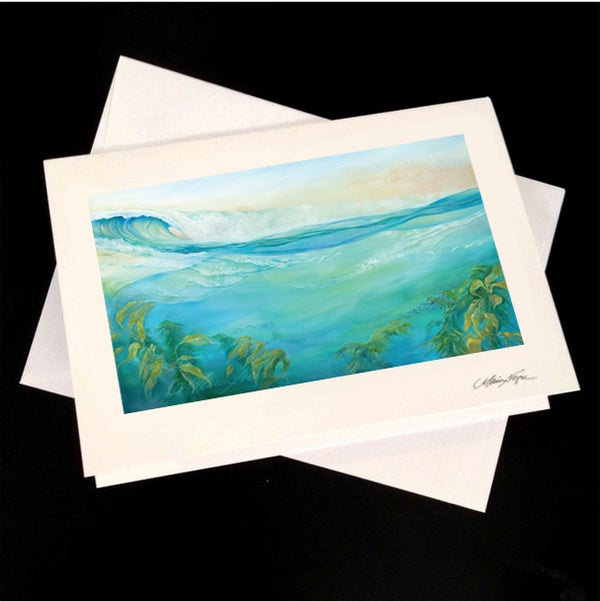 Image of Kelp Forest 5-Pack Greeting Card Set