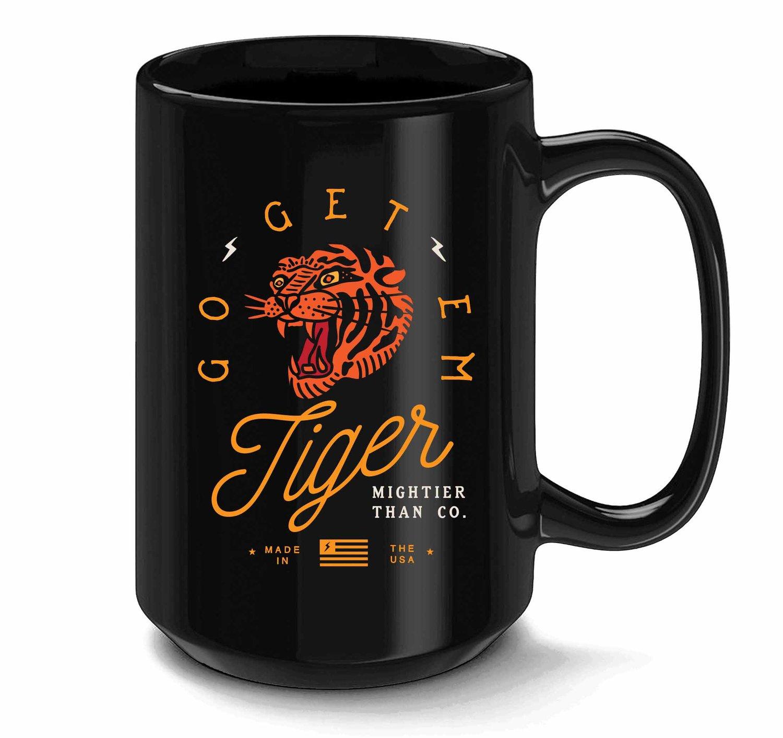 Image of Go Get Em Tiger - Coffee Mug 15oz