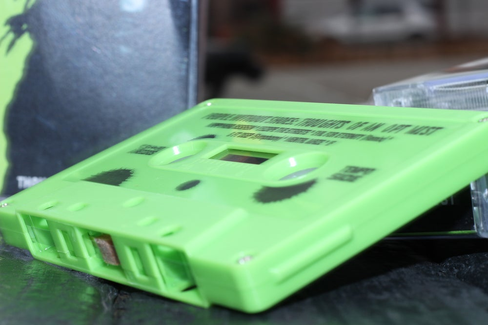 Image of THOUGHTS OF AN OPTIMIST (GREEN TAPE CASSETTE)