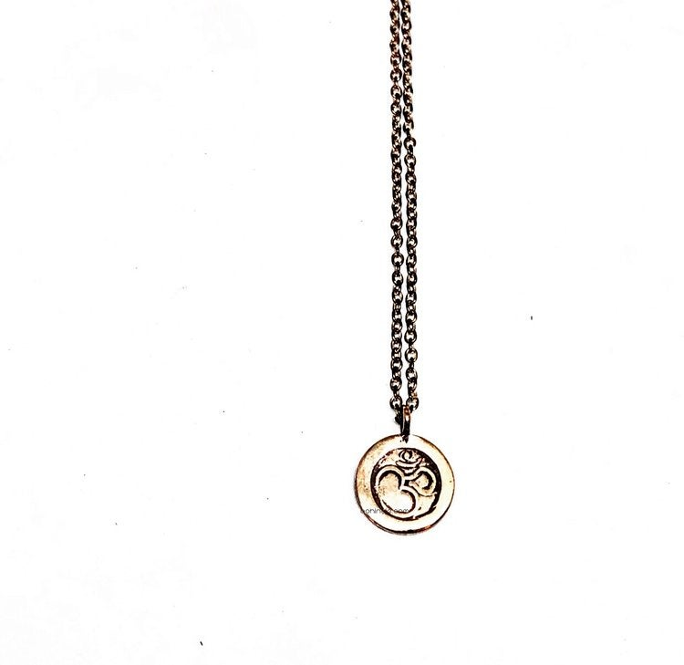 Image of vintage ohm necklace