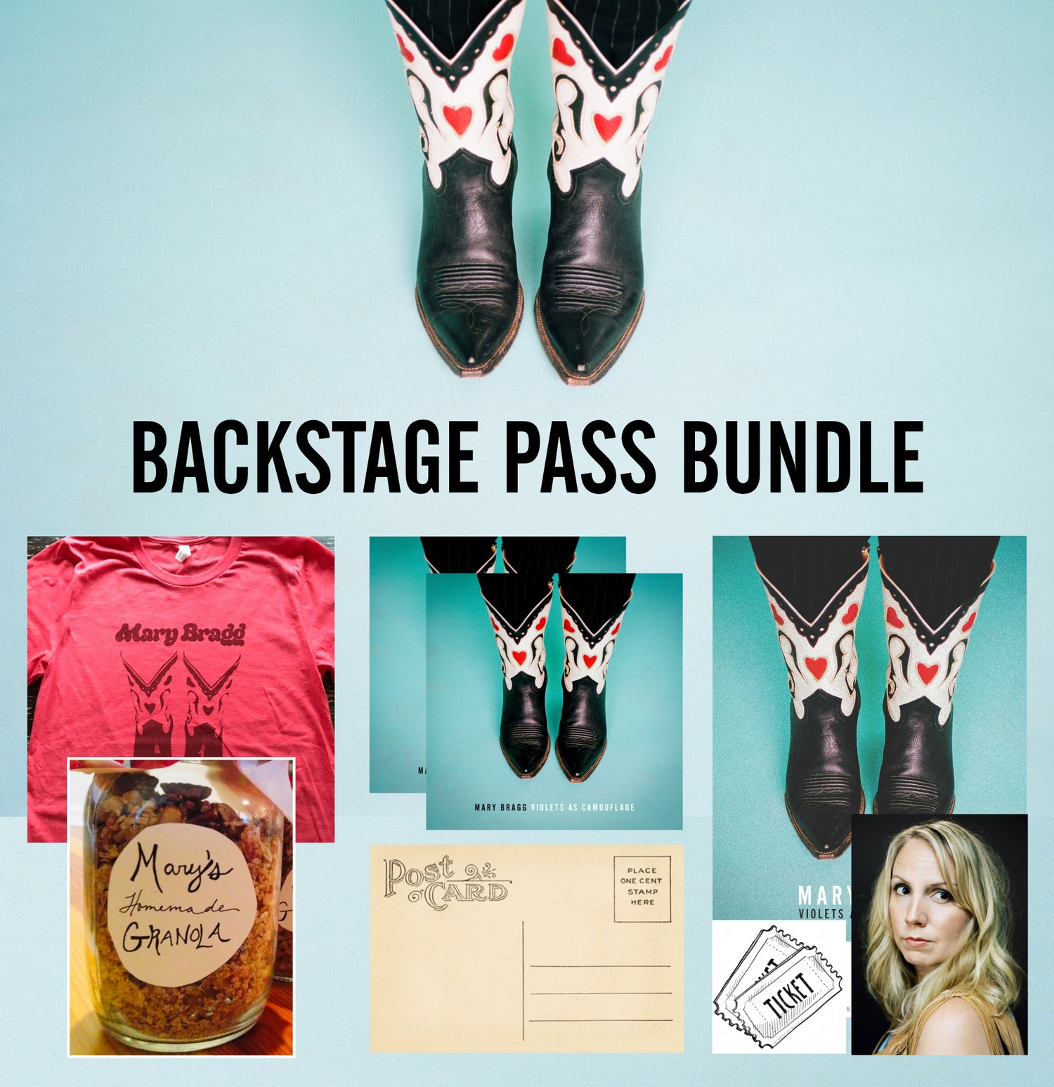 Image of Backstage Pass Bundle [Right Track Bundle + Show Tickets + Meet and Greet on Tour] [PRE-ORDER]
