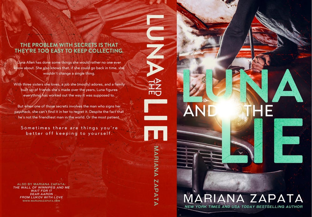 "Image of  Signed Paperback ""Luna and the Lie"""