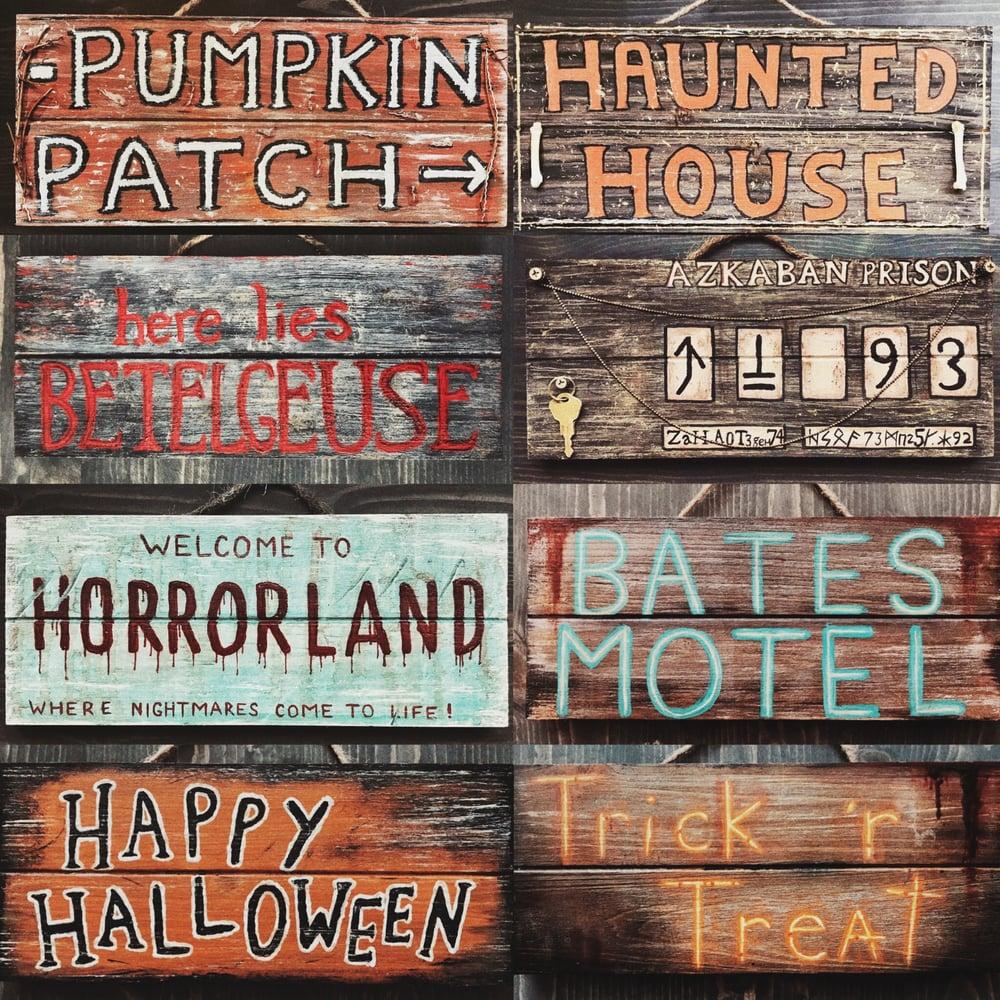 Image of Custom Wood Signs