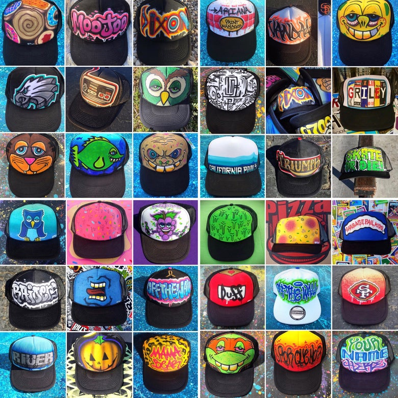 Image of *Custom trucker hats